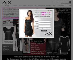 AX Paris Discount Code