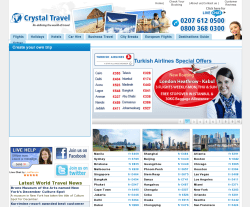 Crystal Travel Coupon 2018