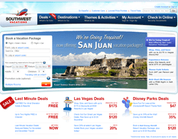 Southwest Airlines Vacations Promo Code