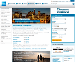 American Express Travel Insurance Promo Code