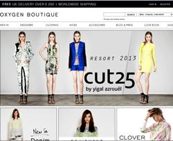 Oxygen Boutique Discount Code