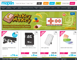 Maplin Discount Code