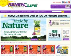ReNew Life Promo Codes 2018