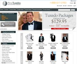 Fine Tuxedos Coupon