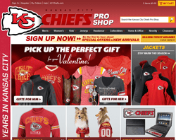 KC Chiefs Shop Coupon 2018