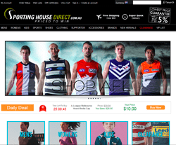 Sporting House Direct Coupon