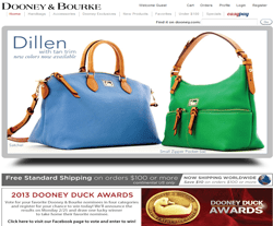 Dooney & Bourke Coupon 2018