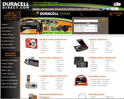 Duracell Direct US Promo Codes