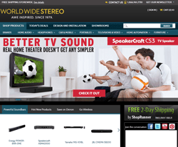 World Wide Stereo Coupon