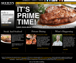 Morton's the Steakhouse Promo Codes 2018