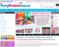 Party Products Promo Codes 2018