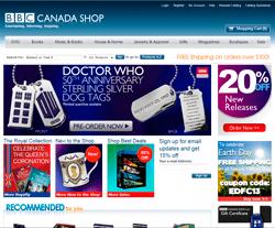 BBC Canada Shop Coupon