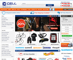 Cell Bikes Promo Codes