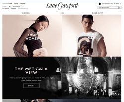Lane Crawford Promo Codes 2018