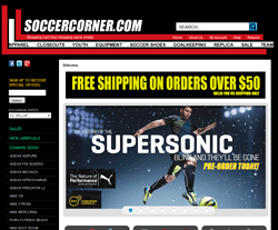 SoccerCorner.com Coupon