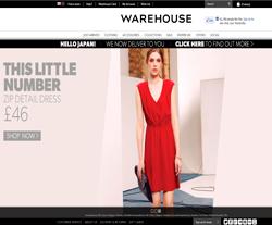 Warehouse UK Discount Code