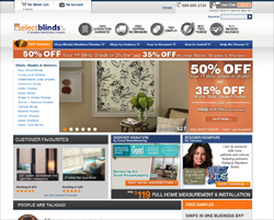Select Blinds Canada Promo Codes