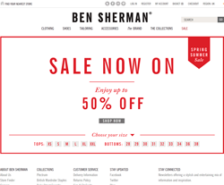 Ben Sherman UK Discount Code