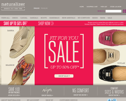 Naturalizer Promo Codes & Coupons