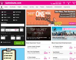 lastminute.com Promo Codes