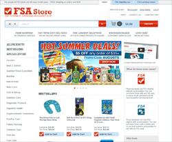 FSA Store Coupon 2018