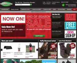 Robinsons Equestrian Discount Code