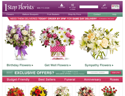 1 Stop Florists Promo Code