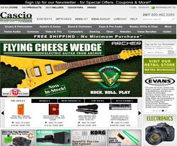 Cascio Interstate Music Promo Codes