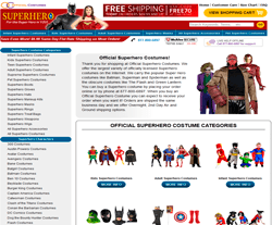 Official Superhero Costumes Coupon