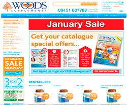 Woods Supplements Discount Codes 2018