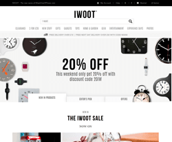 IWOOT Discount Code