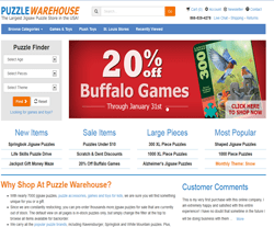 Puzzle Warehouse Coupon 2018