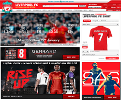 Liverpool FC Discount Codes 2018
