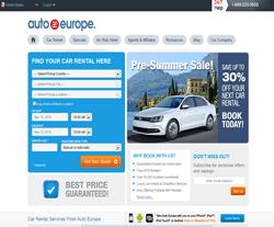 Auto Europe US Promo Codes
