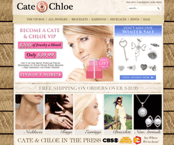 Cate & Chloe Coupon 2018