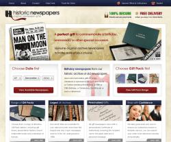 Historic Newspapers Voucher Code