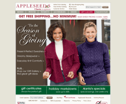 Appleseed's Coupon