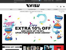 EVISU Promo Code