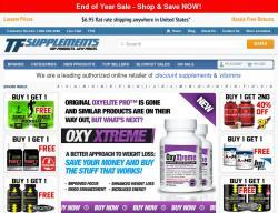 TF Supplements Promo Codes 2018