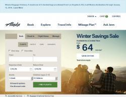 Alaska Airlines Discount Codes 2018