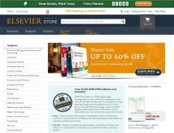 Elsevier Store Discount Codes 2018