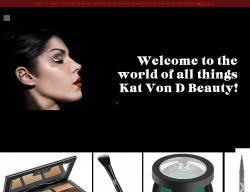 Kat Von D Beauty Promo Codes 2018