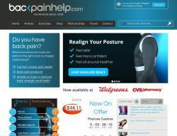 Back Pain Help Coupons