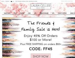 Laura Geller Promo Codes 2018