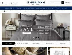 Sheridan Promo Codes