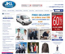 JKL Clothing Voucher Code