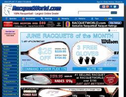 RacquetWorld Coupon Codes