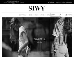 Siwy Denim Coupon 2018