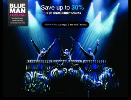 Blue Man Group Promo Codes 2018