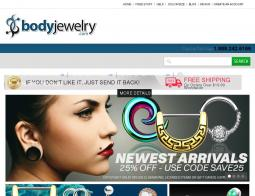 Body Jewelry Coupon